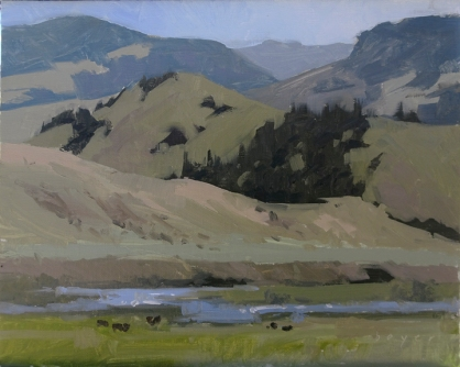 Wason Ranch - Creede, Colorado 8x10 - plein air oil on linen panel950.00