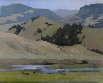 Lyn Boyer Studio Gallery 'Wason Ranch' Creede, Colorado 8x10 plein air oil on linen panel1600.00