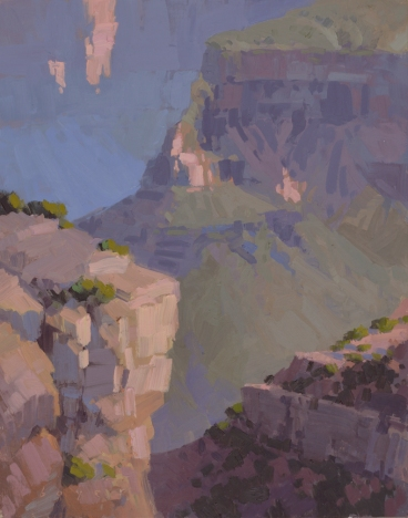 Through Time - Grand Canyon, AZ 14x11 - plein air oil on linen panel1525.00