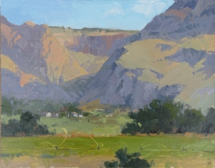 Best of Show - Escalante Canyon Art Festival Bounty - Escalante, UT 9x12 - plein air oil on linen panel Permanent Collection Escalante Canyon Art Festival