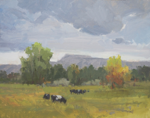 Change Coming - Escalante, UT 11x14 - plein air oil on linen panel1525.00