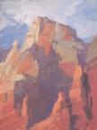 Zion Reds8x6 - plein air oil on linen panel575.00
