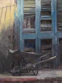 Havana Primaries 16x12 - oil on linen panel