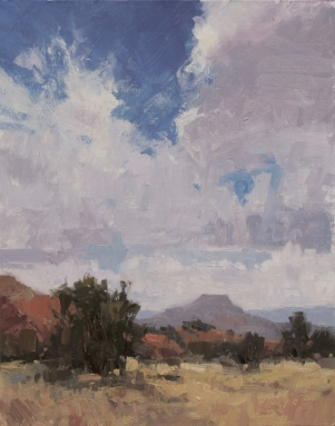 The Padernal - Ghost Ranch14x11 plein air oil on linen panel1525.00
