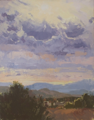 Coyote Ridge14x11 - plein air oil on linen panel1525.00 Sorrel Sky Gallery
