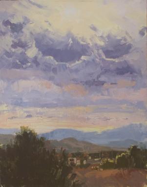Coyote Ridge14x11 - plein air oil on linen panel1525.00 Sorrel Sky Gallery