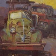 Precious MetalGold King Mine, Jerome, AZ12x16- plein air oil on linen panel 1950.00Oh Be Joyful Gallery