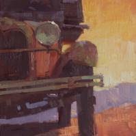 Sedona Plein Air FestivalRidge RunGold King Mine, Jerome, AZ9x12 - plein air oil on linen panel 1250.00 Sorrel Sky Gallery