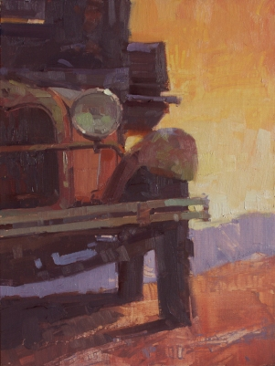 Sedona Plein Air FestivalRidge RunGold King Mine, Jerome, AZ9x12 - plein air oil on linen panel 1250.00 Sorrel Sky Gallery