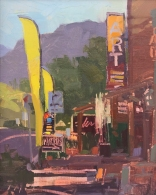 Guerilla Painter Award - Sedona Plein Air Festival Paint Your Colors8x10 - plein air oil on linen panel SOLD - SEDONA ARTS CENTER