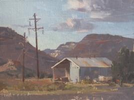 Sorrel Sky Gallery Escalante Canyons Arts Festival 'Finding Beauty'9x12 plein air oil on linen panel 1250.00