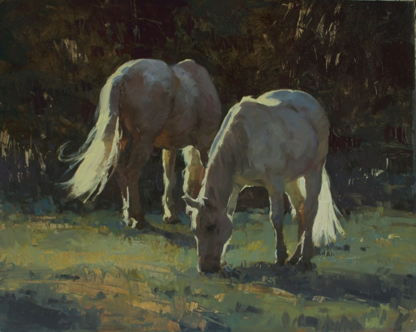 Brothers16x20 - plein air oil on linen panel 4550.00Authentique Gallery