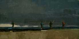 Authentique Gallery 'Havana Grays'10x20 - oil on linen panel SOLD