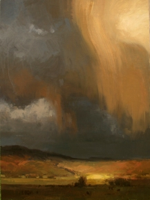 Authentique Gallery 'Virga'24x18 oil on linen panel SOLD