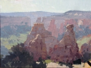 The Guardians9x12 plein air oil on linen panel Private CollectionMonuments and Canyons Invitational Third Place