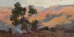 Drift Away6x12 plein air oil on linen panel 850.00Grand Canyon Celebration of Art