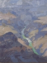 Let the River Run8x6 plein air oil on linen panel SOLDGrand Canyon Celebration of Art